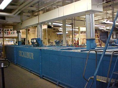 Fiberglass Lamination Process Line Relocation