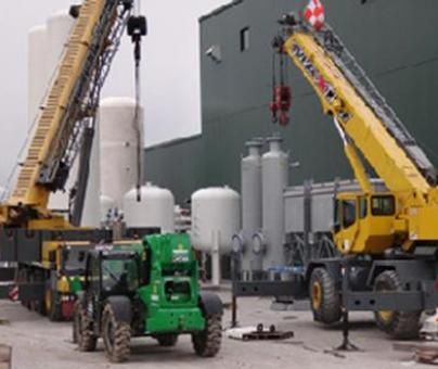 Landfill Gas Upgrading Facility