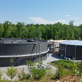 Wastewater engineering services